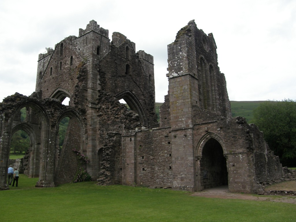 Llanthony Priory, Black Mountains, Wales