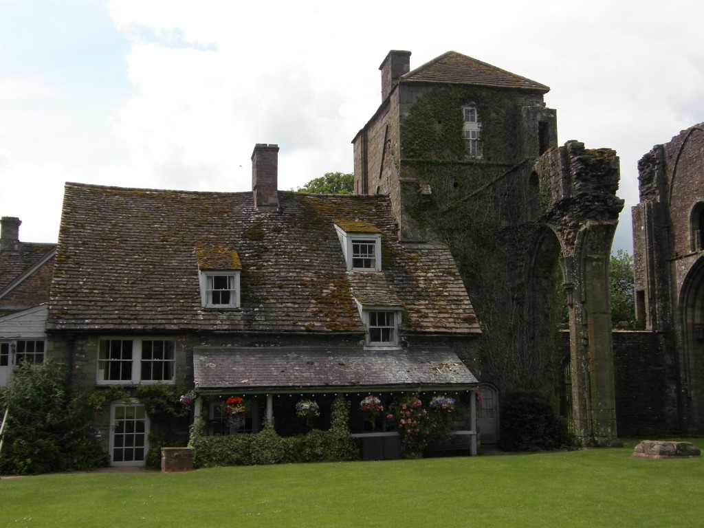 Victorian Inn at Llanthony Priory, Black Mountains, Wales