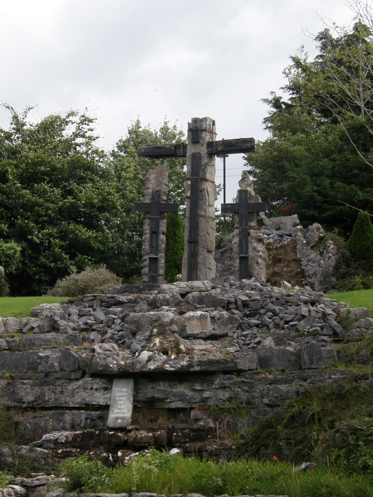 Ballintubber Abbey Church, Co Mayo, Éire, Stations of the Cross, No. 11