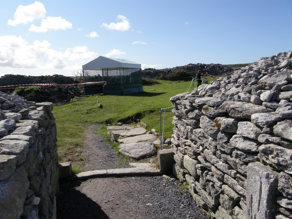 Gateway of the Caherconnell Ring Fort, from Outside the Fort