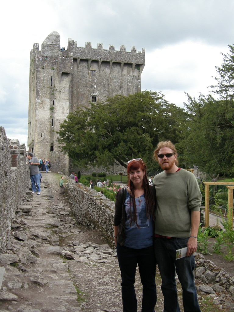 Caitlin and Jeff at Blarney Castle