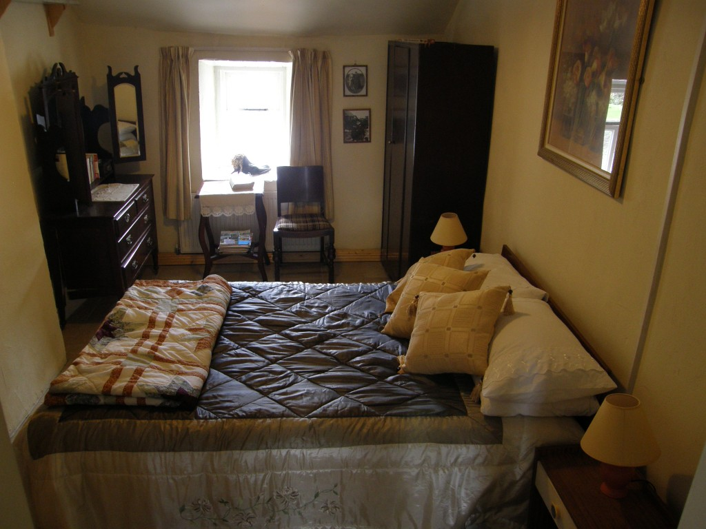 "The original ""master"" bedroom of the cottage"