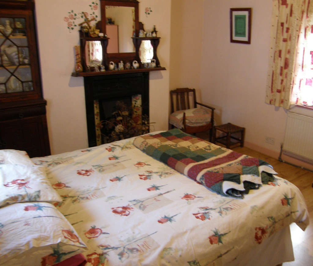 The bedroom added in 1940