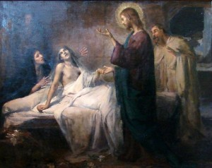 The Resurrection of Jairus' Daughter, Emmanuel Benner, 1902