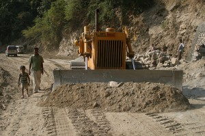 Road Building in North East India