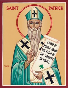 Icon of St. Patrick of Ireland