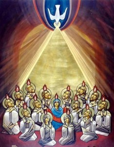 Coptic Icon of Pentecost