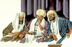 Three Elders Conspiring