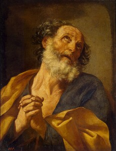 Repentance of St Peter by Guido Reni