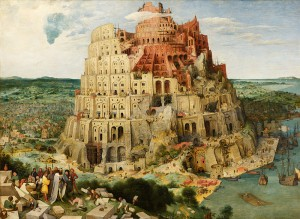 Construction of the Tower of Babel by Pieter Bruegel the Elder