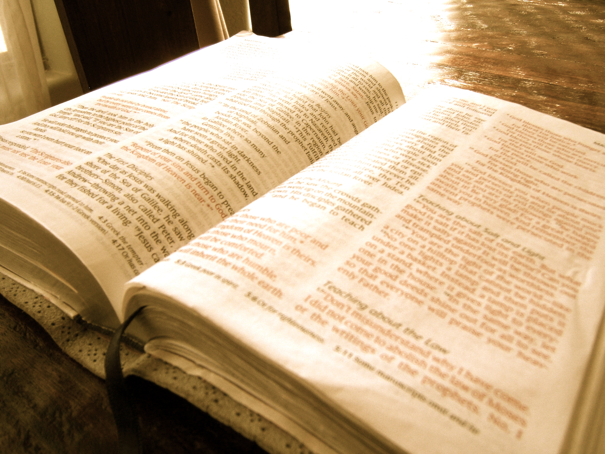 Harsh Light on the Bible