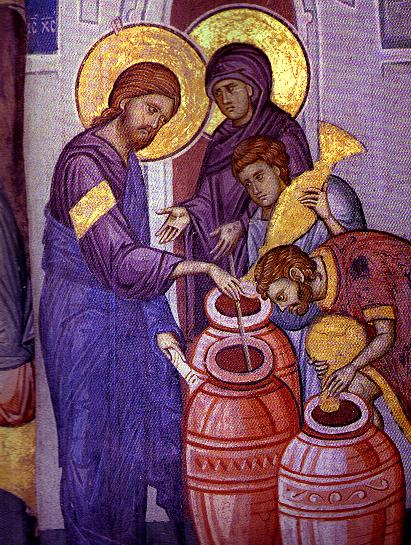Icon of the Wedding at Cana
