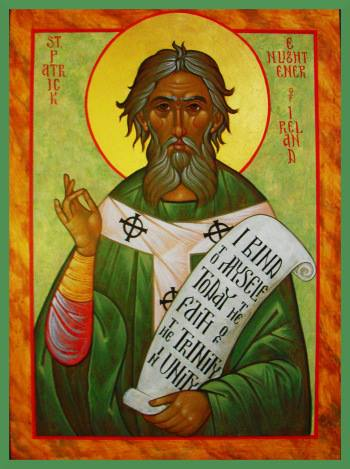 Orthodox Icon of St. Patrick