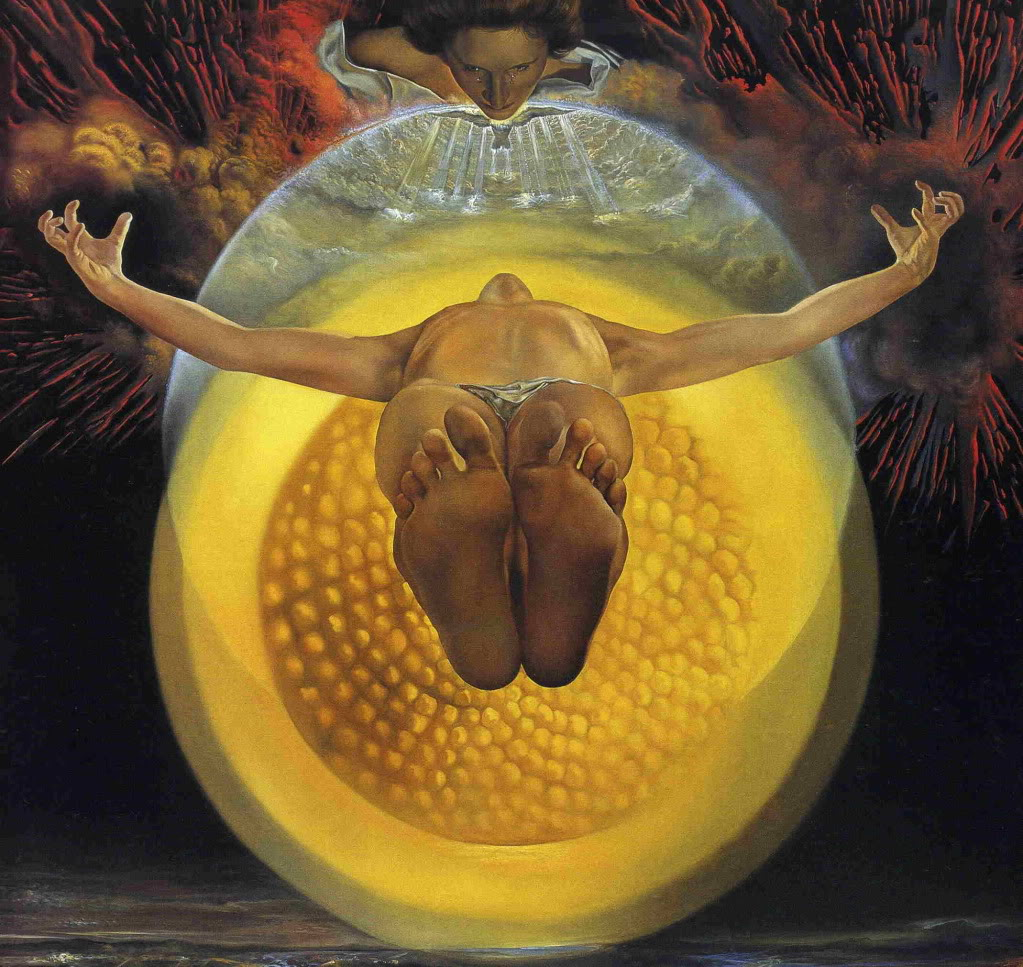Ascension of Christ by Salvadore Dali