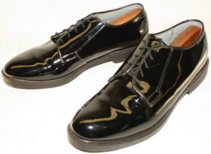 Spit-Polished Military Oxfords