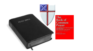 Bible BCP and Shield