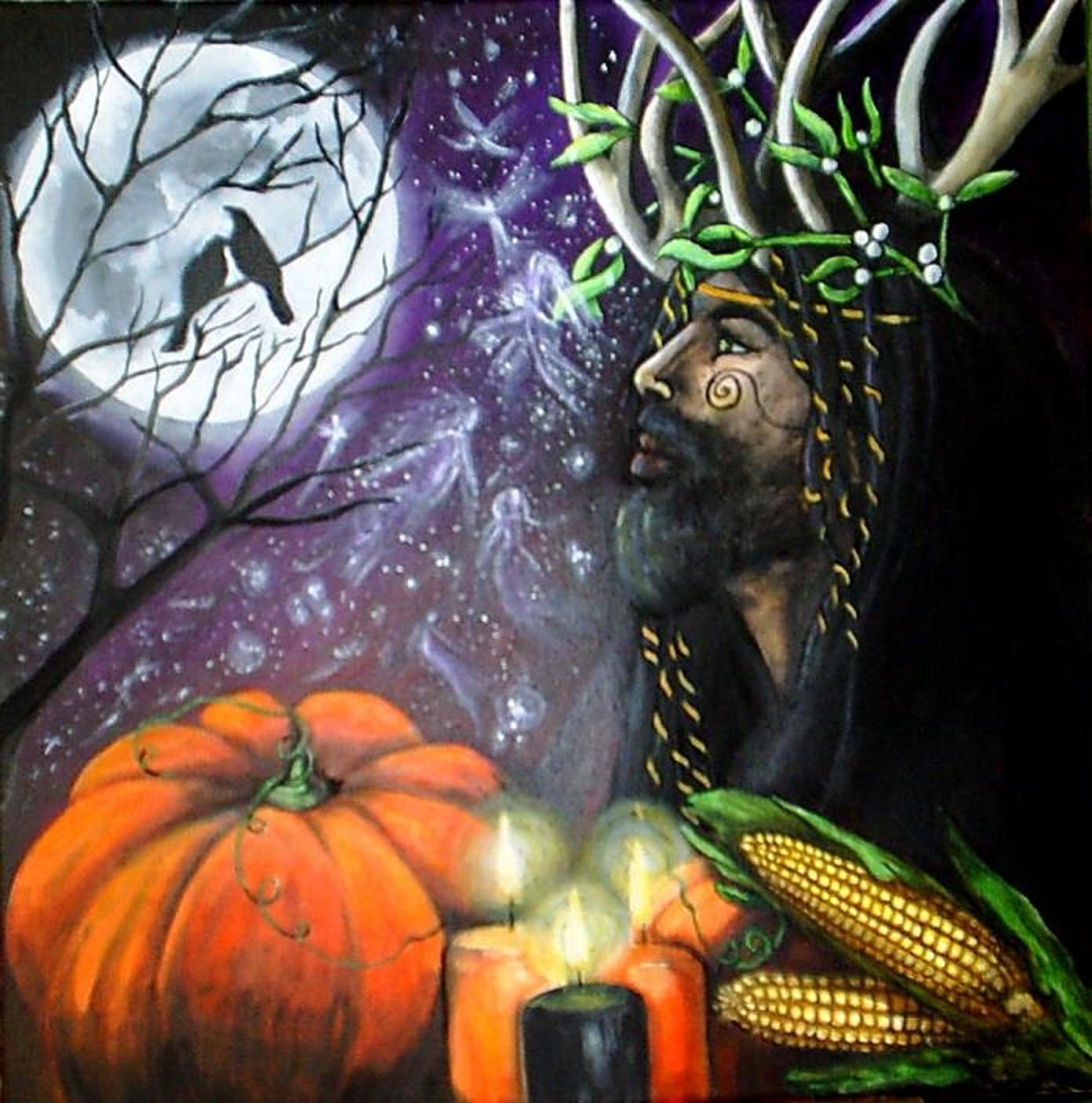 Samhain Illustration